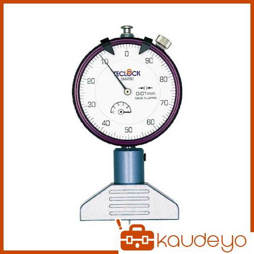 テクロック ダイヤルデプスゲージ DM250 4066