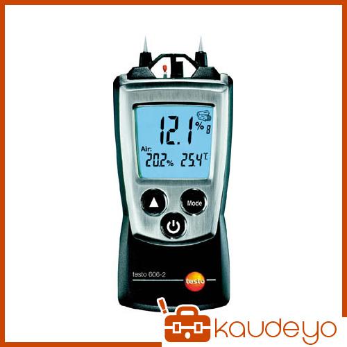 テストー ポケットライン材料水分計 TESTO606-2 温湿度計測機能付 TESTO6062 4325
