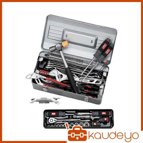KTC 9.5sq.工具セット(型開きメタルケース)[48点組] SK348S 2285