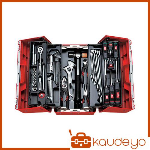 KTC 9.5sq.工具セット(両開きプラハードケース)[53点組] SK3536P 2285