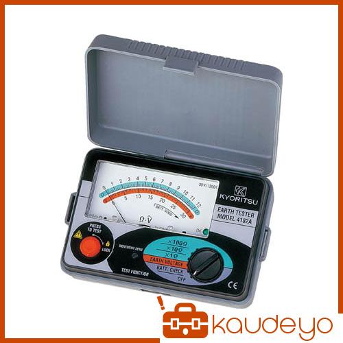 KYORITSU アナログ接地抵抗計(ソフトケース) MODEL4102A 2466