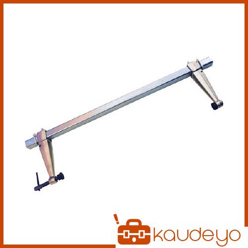 本体より角パイプが分離でき長さの異なった角パイプ使用によりクランプ範囲の選択が自由です  スーパー スーパーセッター(ストロングタイプ) FCW420 3063
