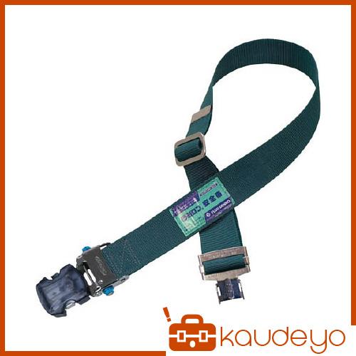 ツヨロン 1本つり専用胴ベルト(ワンタッチアジャスタ付)青緑色 UBAJOTNBGBP 4062