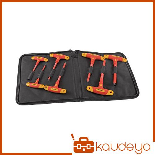 TRUSCO 絶縁T型六角棒レンチ7本セット TZTR7S 3100