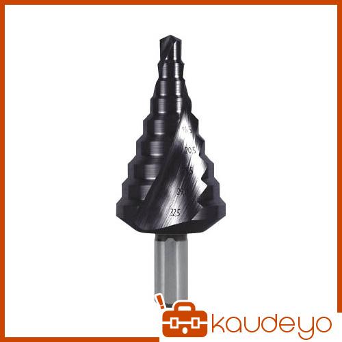 RUKO 2枚刃スパイラルステップドリル 30.5mm チタンアルミニウム 101093F 8137
