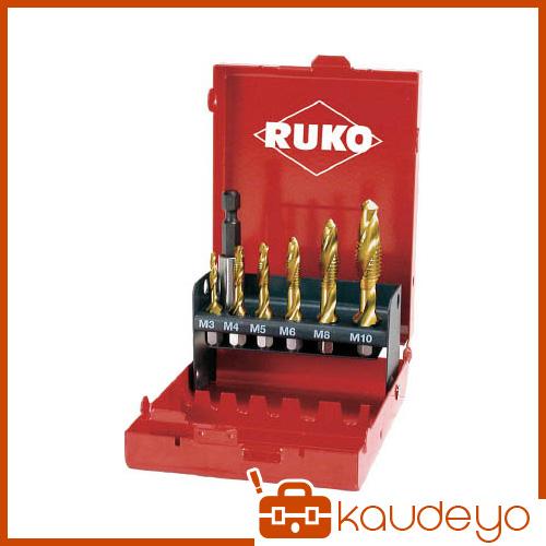 RUKO 六角軸タッピングドリル チタン セット 270020T 8137