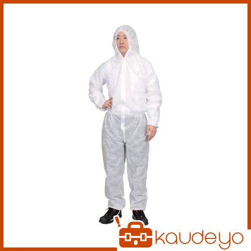 TRUSCO まとめ買い 保護服(1層タイプ) Lサイズ 50着入り TPSBL 8539
