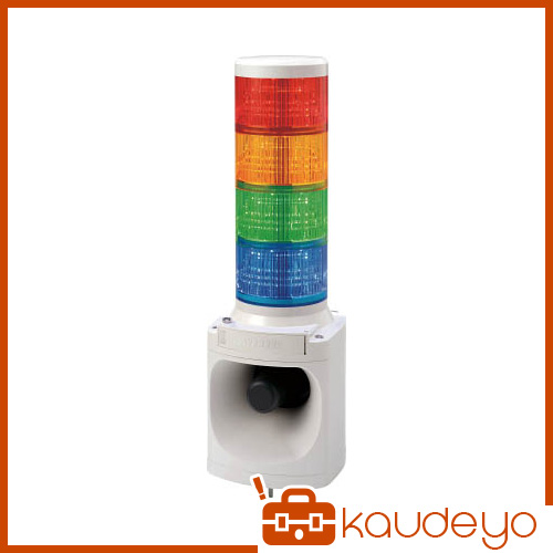 パトライト LED積層信号灯付き電子音報知器 LKEH402FARYGB 3009