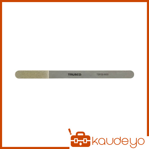 TRUSCO 極薄フレックスダイヤモンドヤスリ 厚み0.3mm #600 TSF02600 3100