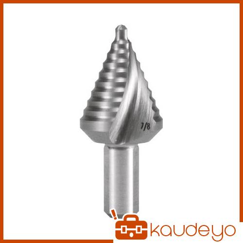 RUKO 2枚刃スパイラルステップドリル 1-3/8 コバルトハイス 101706E 8137