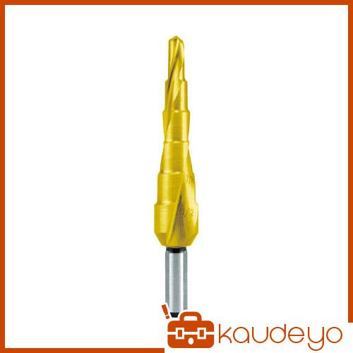 RUKO 2枚刃スパイラルステップドリル 3/4 チタン 101703T 8137