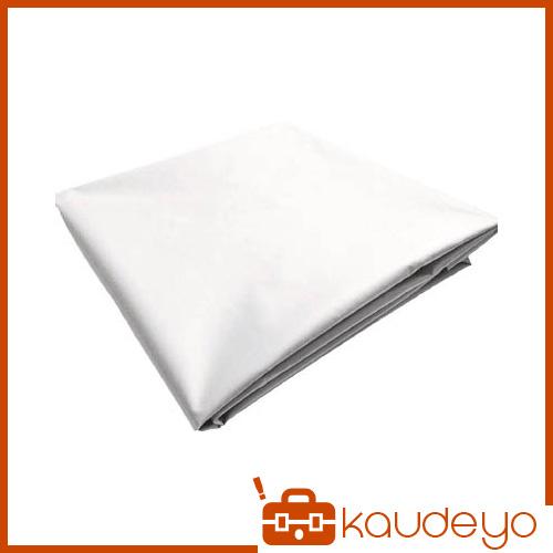 TRUSCO ターポリンシート ホワイト 1800X3600 0.35mm厚 TPS1836W 8000