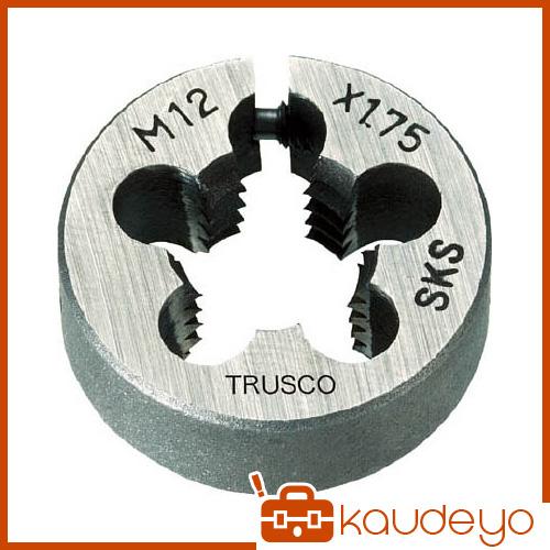 TRUSCO 丸ダイス 63径 M30×3.5 (SKS) T63D30X3.5 3100