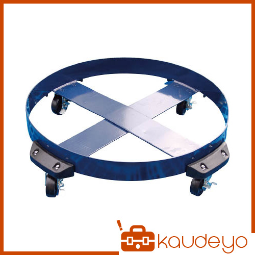 アクアシステム ドラム缶用キャリー ゴム製タイヤ(最大耐荷重400kg) DCNBR 1201