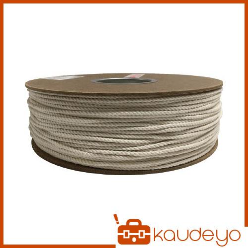 ユタカ 綿ロープドラム巻 3φ×300m PRC7 8200