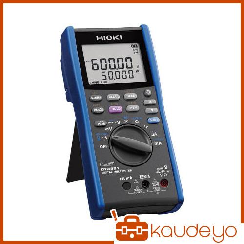 HIOKI デジタルマルチメータ(A端子なし) DT4281 6031