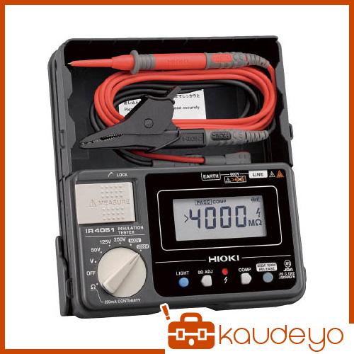HIOKI 5レンジ絶縁抵抗計 ハードケースモデル IR405110 6031