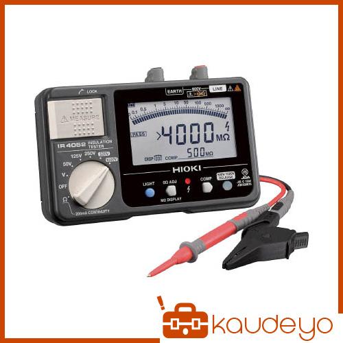 HIOKI 5レンジ絶縁抵抗計 セミハードケースモデル IR405210 6031