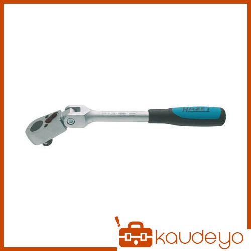 HAZET ラチェットハンドル(小判型ヘッド・首振りタイプ) 差込角9.5mm 8816GK 6307