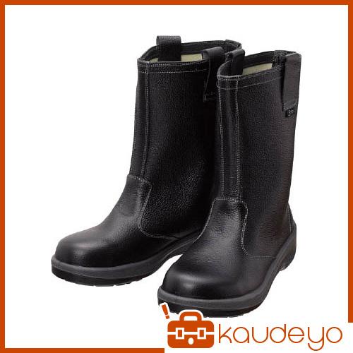 シモン 安全靴 半長靴 7544黒 25.5cm 7544N25.5 3043