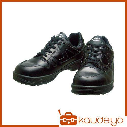 シモン 安全靴 短靴 8611黒 25.0cm 8611BK25.0 3043