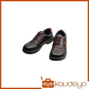 シモン 安全靴 短靴 SL11-R黒/赤 24.0cm SL11R24.0 3043