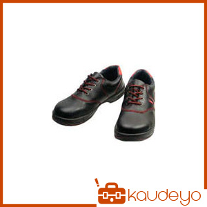 シモン 安全靴 短靴 SL11-R黒/赤 26.0cm SL11R26.0 3043