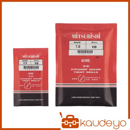 三菱K ストレートドリル12.2mm SDD1220 2080 5本