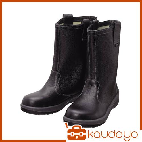 シモン 安全靴 半長靴 7544黒 23.5cm 7544N23.5 3043