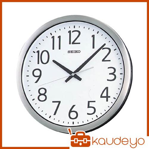 SEIKO 防湿・防塵型オフィスクロック 直径381×40 金属枠 KH406S 8695