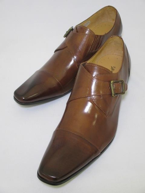遊びと仕事がコンセプト 今の細身のスーツにぴったりのロングノーズに特徴的な丸みのあるヒール オンオフ共に履きこなせる遊び心たっぷりの革靴です サービス 高品質 Bump N'GRIND バンプアンドグラインド BG-6032 送料無料 本革 オフィスカジュアル キャメル 革靴 オフィス ロングノーズ ビジネス