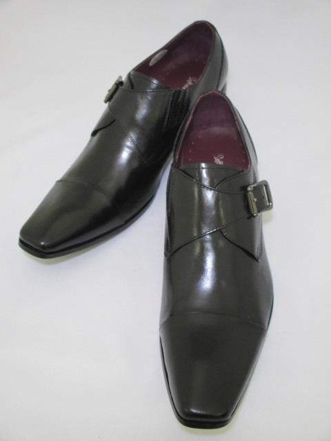 遊びと仕事がコンセプト 今の細身のスーツにぴったりのロングノーズに特徴的な丸みのあるヒール オンオフ共に履きこなせる遊び心たっぷりの革靴です Bump N'GRIND バンプアンドグラインド BG-6032 送料無料 ブラック 黒 本革 訳ありセール 格安 革靴 ロングノーズ ショッピング ビジネス オフィスカジュアル オフィス