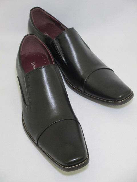 遊びと仕事がコンセプト 今の細身のスーツにぴったりのロングノーズに特徴的な丸みのあるヒール オンオフ共に履きこなせる遊び心たっぷりの革靴です Bump N'GRIND バンプアンドグラインド BG-2790 人気商品 送料無料 黒 革靴 オフィスカジュアル オフィス スーツ ブラック 直送商品 ビジネス ロングノーズ