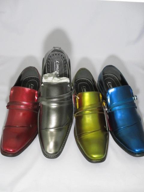 本革ビジネスシューズになります 唯一無二のカラーであなただけの1足に 本革ビジネスシューズ 高価値 Limontiba 3108 撥水加工 !超美品再入荷品質至上! 送料無料 ワイン 靴 ブルー 衣装 イエロー シルバー ビジュアル