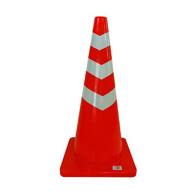 割れにくく、軟らかい!重石の要らない! ソフトスコッチコーン 8本セット 赤白 2.5KG 高さ690 重石の要らない 軟質塩ビ製 代引不可大型商品につき北海道・沖縄・離島への配送はできません。
