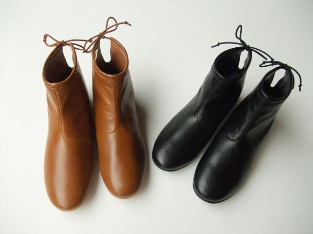 クーポン【10%OFF バックタイ】 leather ポルク【通年】minon polku【ミナン ポルク】Back Tie boots goat leather バックタイ ブーツ〔山羊革〕 (2色)(23.0?24.0)m397, アイピリカ:c82e32d7 --- jpworks.be