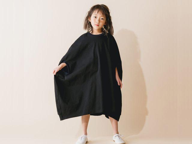 【2019秋冬】nunuforme【ヌヌフォルム】カーブワンピース(2色)(95~145)nf12939-568