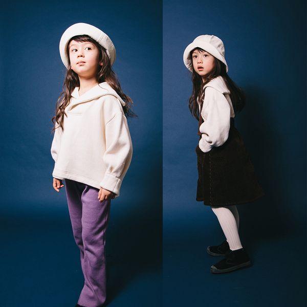【2020秋冬】mimi poupons【ミミプポン】セーラートップス(4色)(オトナ/2サイズ)180463f