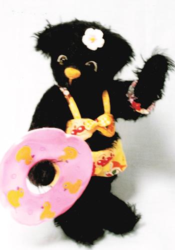 【送料込】植森さんのテディベア「KIRARA」20cm ハンドメイド【楽ギフ_メッセ入力】【プレゼントにもオススメ】【メッセージカード無料】【5002014】