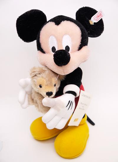 【難あり特価】WDW限定シュタイフ2006ミッキー with his Disney Bear【楽ギフ_メッセ入力】【メッセージカード無料】【5002014】