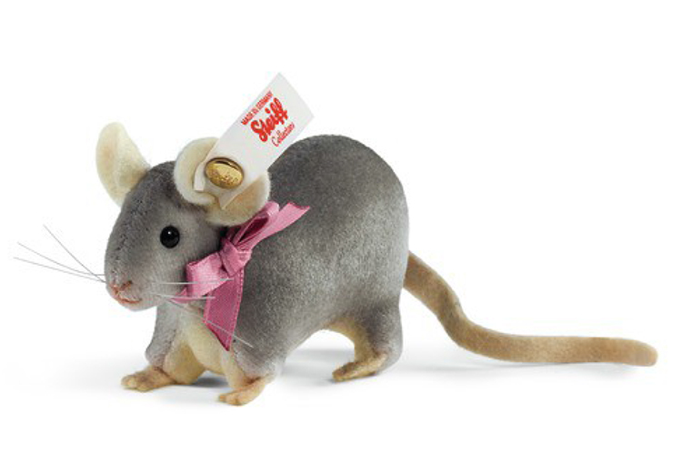 シュタイフ世界限定2015年秋冬発売マウス8cm メッセージカード無料 高品質 5002014 授与