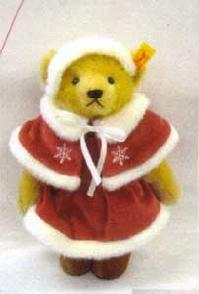 【送料無料】シュタイフJAPAN SANTA TEDDY 2002【楽ギフ_メッセ入力】【プレゼントにもオススメ】【メッセージカード無料】【5002014】