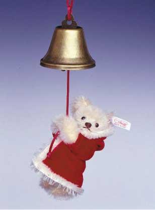 シュタイフテディベア2003年世界限定ウィズベルオーナメント サンタクロース クリスマス【楽ギフ_メッセ入力】【プレゼントにもオススメ】【メッセージカード無料】【5002014】