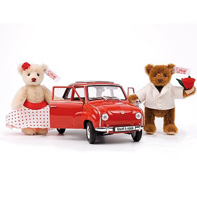 【送料無料】シュタイフドイツ限定ショップ限定販売2008「GoggoMobile with teddy bears」【楽ギフ_メッセ入力】【メッセージカード無料】【5002014】