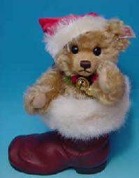 シュタイフ ぬいぐるみ テディベア くま 限定 Steiff Teddybear 限定生産 5002014 ドイツ 2001年世界限定テディベアテディベアinブーツサンタ メッセージカード無料 今ダケ送料無料 今だけスーパーセール限定 プレゼントにもオススメ クリスマス 楽ギフ_メッセ入力 くまのぬいぐるみ日本入荷数わずか150体