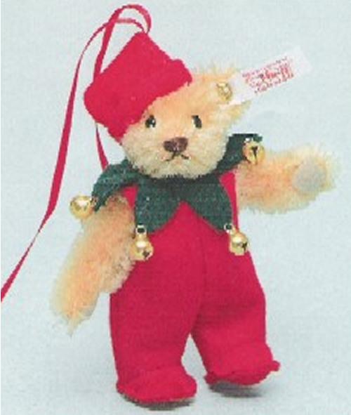 【送料無料】Steiff2004年日本限定シュタイフテディベアオーナメントサンタ2004 クリスマス【楽ギフ_メッセ入力】【プレゼントにもオススメ】【メッセージカード無料】【5002014】