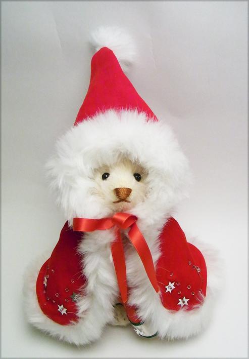 シュタイフ2008年日本限定テディベアSteiff Teddy BearSteiffリトルサンタ2008【楽ギフ_メッセ入力】【メッセージカード無料】【5002014】