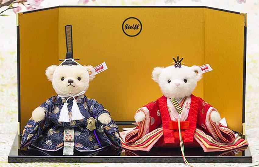 【新着】【送料無料】シュタイフ日本限定2018年発売「テディベアひな人形2019」【メッセージカード無料】【05P09Jan16】