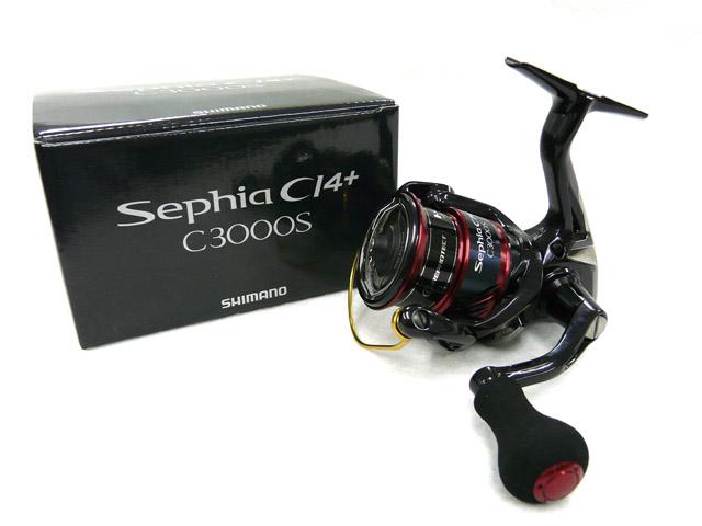 【あす楽対応】シマノ(Shimano)☆17セフィア CI4+(Sephia CI4+) C3000S[エギング用品]【北・東北・沖 除き送料無料】