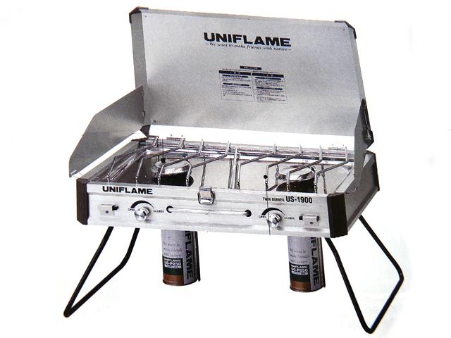 【あす楽対応】ユニフレーム(UNIFLAME)☆ツインバーナー US-1900【北・東北・沖 除き送料無料】